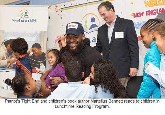 Open up a child's world through reading.